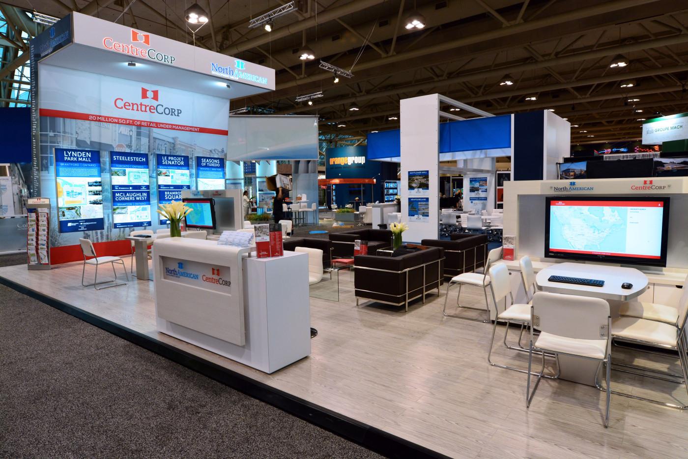Property Exhibition Booth : North american property group u maverick exhibits u custom trade