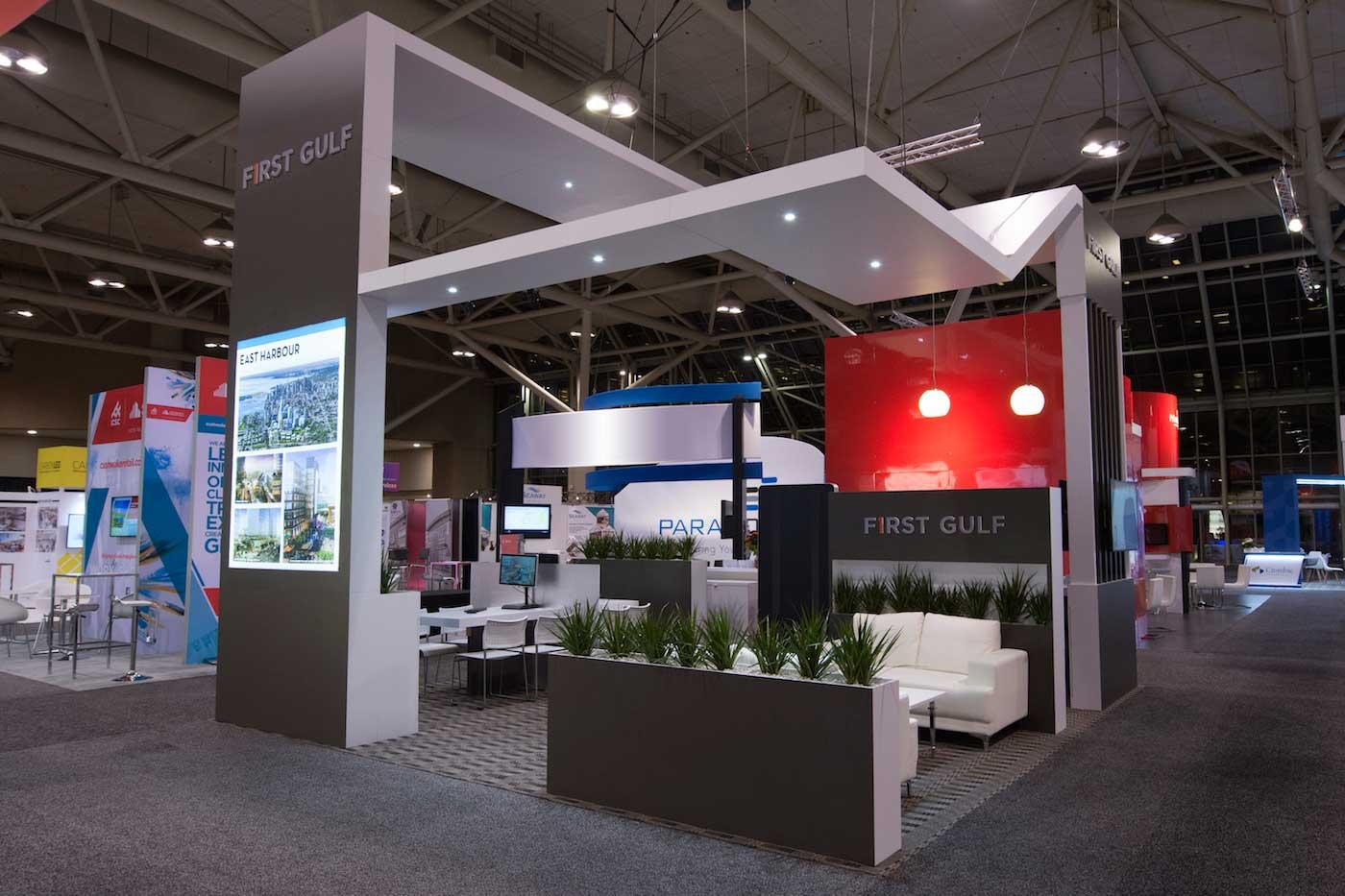 Trade Show Booth Lounge : First gulf u maverick exhibits u custom trade show exhibit design